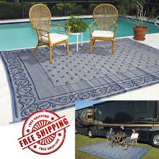 patio rug 9x12 reversible pad rv large picnic carpet beach outdoor 9x12 patio rugs rv trailer patio beach camping