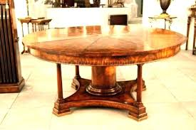 what size round table seats 8