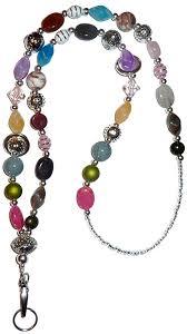 Chunky Style Fashion Women's Beaded Lanyard 34 ... - Amazon.com