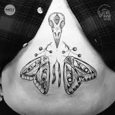 At Evilhandtattoo Barbora Moth Friends Moth Mothtattoo