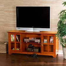 Flat Screen Tv Console Amazoncom Remington Media Stand Mission Oak Kitchen Dining