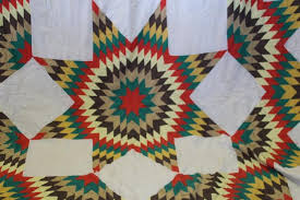 Handmade Signed Broken Aztec Star Quilt | Patchwork | Pinterest ... & Buy online, view images and see past prices for Handmade Signed Broken  Aztec Star Quilt. Adamdwight.com
