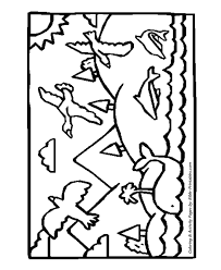Small Picture The Fifth Day PreK 3 Bible Creation Story Coloring Pages
