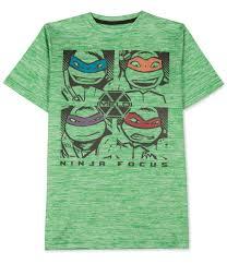 Nickelodeon Size Chart Nickelodeon Boys Carmelo Anthony Ninja Focus Graphic T Shirt