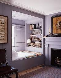 Love the bed nook idea. I'd love to curl up with a book while it's raining.  Might also work with a kid's room. | Dream Home | Pinterest | Bed nook, ...