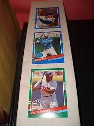 1991 donruss collectors set, complete, 792 cards,mint. 1991 Donruss Baseball Complete Set Of 770 Cards Mint Condition Puzzle And Bc Ebay