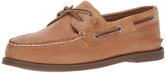 sperry mens top sider mens s a o leather closed toe boat shoes sahara size 9 0