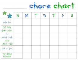 Make A Table Chart Free Free Printable Chore Charts For Toddlers Frugal Fanatic
