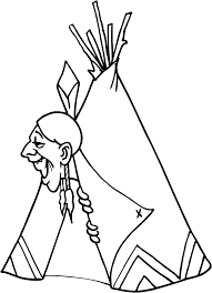 Cherokee Indian Coloring Pages Coloring Home