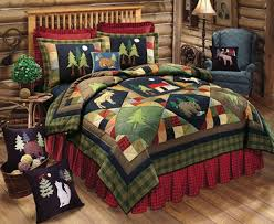 lodge cabin bedding sets dont settle get what you like within country bedding sets