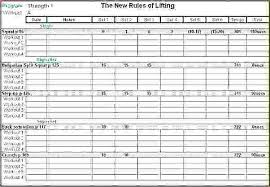 workout excel templates workout spreadsheet template training sheet template training