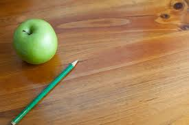 school desk background. Fine Desk Schooled Themed Background Of A Wooden Desk With Green Apple And Pencil Throughout School Desk Background E