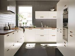 Walnut Floor Kitchen A Large White Kitchen With Walnut Worktops Kitchen Pinterest