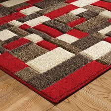 portland 1098 r beige cream red rug by oriental weavers