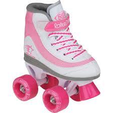 Roller Derby Firestar Kids Girls Pink Quad Roller Skates