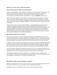 how to write a recommendation letter for university admission recommendation letter sample for university admission