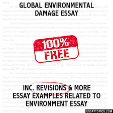 environmental damage essay global environmental damage essay