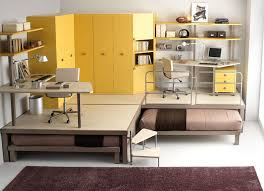Interior Exterior Plan Apply yellow in furniture of your teens