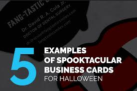 Halloween Business Cards Luxury Business Cards 4 Color Print Blog Business Cards