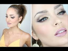 heavy glam glittery holiday eyes makeup tutorial
