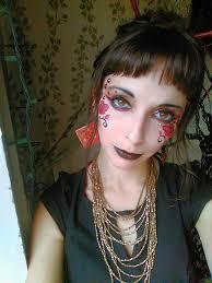 molly face paint face painter makeup fantasy performer imagine circus