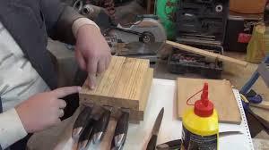 <b>Подставка для ножей</b> своими руками. Часть 1. Homemade Stands ...