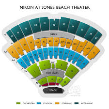 Jones Hall Seating Chart View Northwell Health At Jones Beach Theater Concert Tickets And