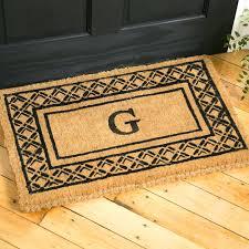 monogrammed door mats great flooring mesmerizing monogram doormat for entrance within mat decor uk monogrammed door mats