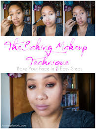 the baking makeup technique bake your face in 5 easy steps