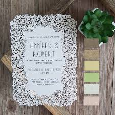 elegant flower laser cut wedding invitations efws001 as low as $1 35 Luxury Elegant Wedding Invitations elegant flat laser cut wedding invitations efws001 Elegant Wedding Invitations with Crystals