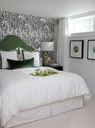 Nicely Decorated Bedrooms Damask Wallpaper Bedroom Black Bedding Best Ideas Idolza