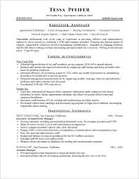Executive Assistant Resume Examples New Resume Examples No Experience Posts Related To Sample