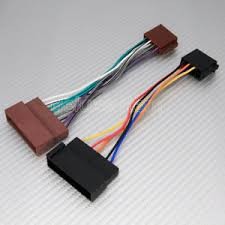 ford to iso car stereo wiring harness adaptor lead new image is loading ford to iso car stereo wiring harness adaptor
