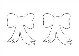 8 Printable Bow Tie Templates Doc Pdf Free Premium