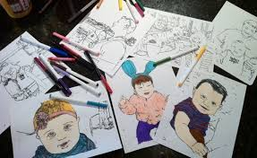 Small Picture Turn Photo Into Coloring Page at Coloring Book Online