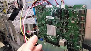 Vizio E422va Power Light Blinking Testing Eeprom U405 For Vizio E422va Main Board 715g4365 M01