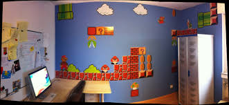 Mario Bedroom Wallpaper Mario Wall Stickers Looking For Some Cool Mario Decorations