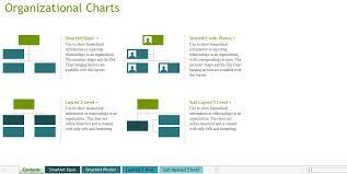 Visual Organizational Chart Template Exceltemplate