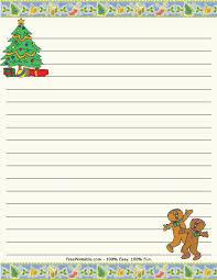 Elegant Christmas Writing Paper 18 Printable 20Christmas 20Border ...