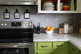 Adorable Painted Kitchen Backsplash Ideas About Home Interior Designing  with Painted Kitchen Backsplash Ideas