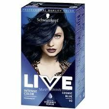 Details About Schwarzkopf Live Intense Color 090 Cosmic Blue