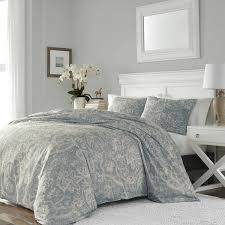 stone cottage medallion cotton sateen duvet cover set king
