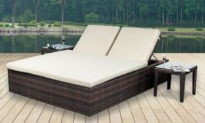 Poly Rattan Garden Outdoor Living Furniture Relaxed Lounge id