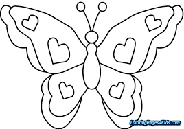 Free Coloring Pages Flowers And Butterflies Free Coloring Pages