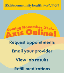 Axis Community Health News Events