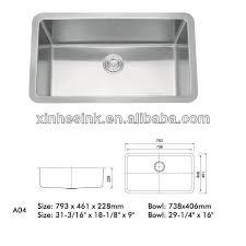 enjoyable inspiration ideas kitchen sink depth small radius 25 stainless steel 9 household