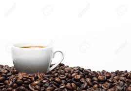 95 ($0.93/ounce) save more with subscribe & save. White Coffee Cup And Coffee Beans Isolated On A White Background Stock Photo Picture And Royalty Free Image Image 44330292