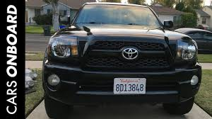 2006 Tacoma Lights How To Remove Upgrade 2nd Gen Toyota Tacoma Grill Headlights
