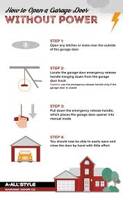 power outage here s how to open your garage door