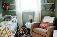 Nursery furniture for small rooms Newborn Baby Tips For Decorating Small Nursery Nursery Furniturenursery Roomnursery Pinterest 108 Best Small Nurseries Images Child Room Nursery Set Up Kids Room